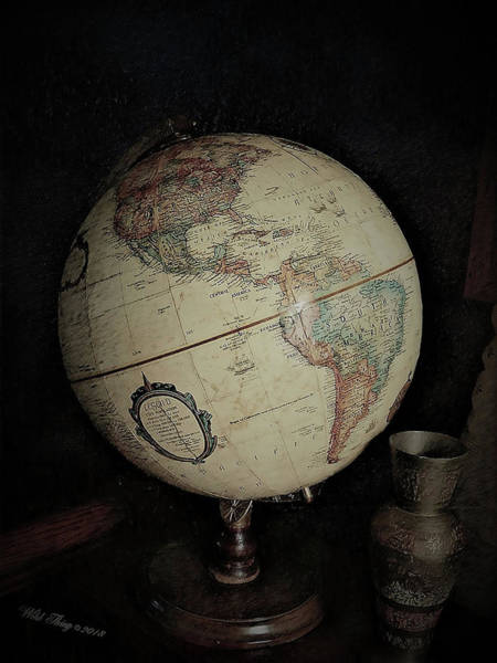 Photograph - Around The World by Wild Thing