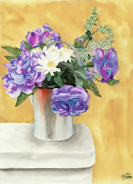 Painting - Arrangement by Ken Powers