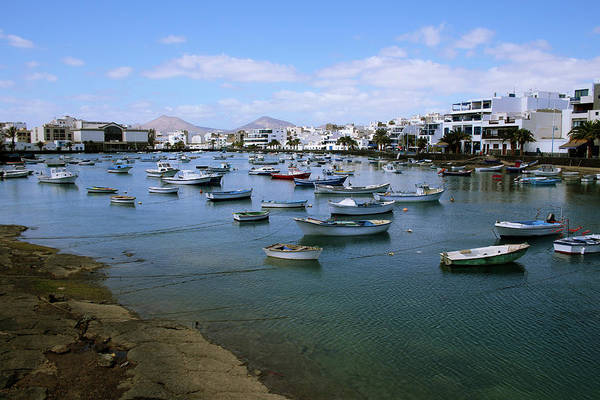 Lake Digital Art - Arrecife - Lanzarote by Cambion Art