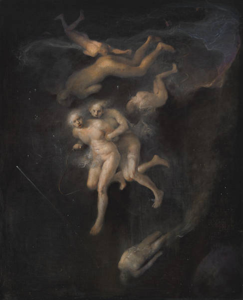 Universe Painting - Arrest In Space by Odd Nerdrum