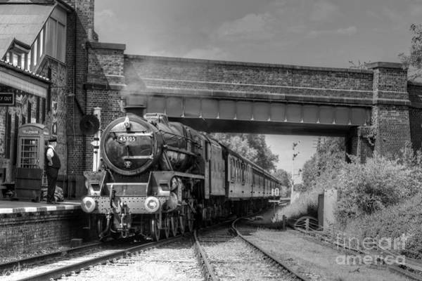 Photograph - Arrival At Quorn by David Birchall