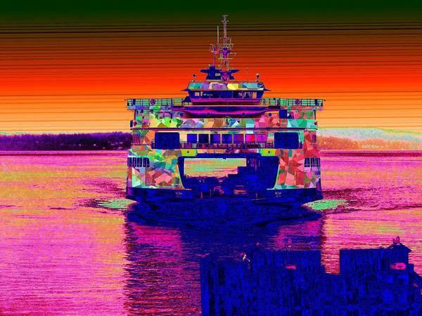 Elliott Digital Art - Arriving Home by Tim Allen