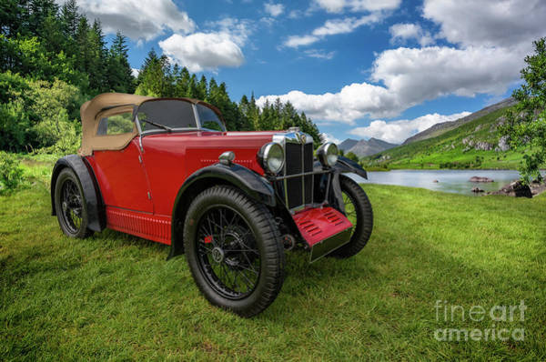Mg Photograph - Arriving In Style by Adrian Evans