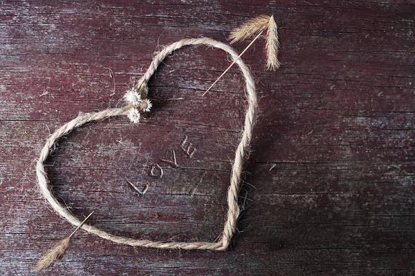 Wall Art - Photograph - Arrow Through My Heart by Lori Deiter