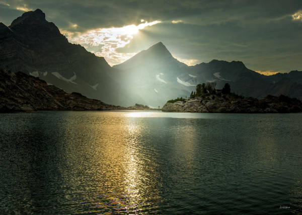 Wall Art - Photograph - Arrowhead Lake Sunlight by Leland D Howard