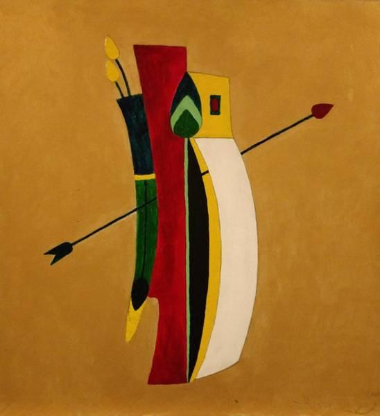 Painting - Arrow's Advantage by Edward Longo