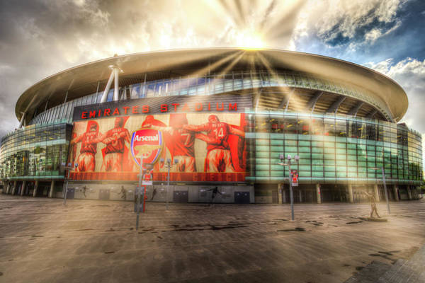 Wall Art - Photograph - Arsenal Football Club Emirates Stadium  by David Pyatt