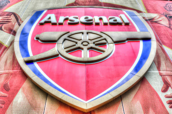 Wall Art - Photograph - Arsenal Football Club Symbol by David Pyatt