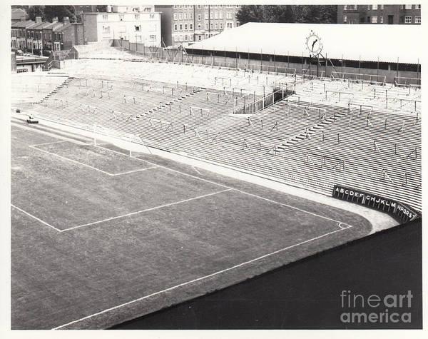 Wall Art - Photograph - Arsenal - Highbury - Clock End 1 - 1969 by Legendary Football Grounds