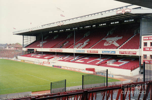 Wall Art - Photograph - Arsenal - Highbury - East Stand 3 - 1992 by Legendary Football Grounds