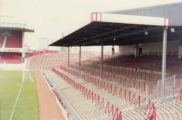 Wall Art - Photograph - Arsenal - Highbury - North Bank 2 - 1992 by Legendary Football Grounds