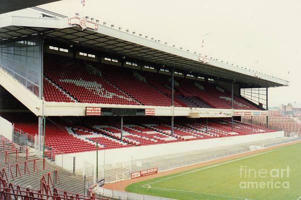 Wall Art - Photograph - Arsenal - Highbury - West Stand 4 - 1992 by Legendary Football Grounds
