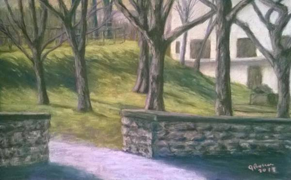 Wall Art - Pastel - Arsenal Park Lawrenceville Pittsburgh Pa by Joann Renner