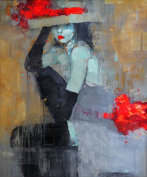 Wall Art - Painting - Presence by Viktor Sheleg