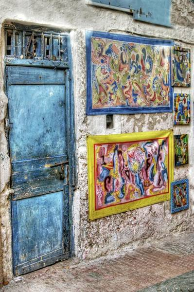 Photograph - Art On The Medina Wall by David Birchall
