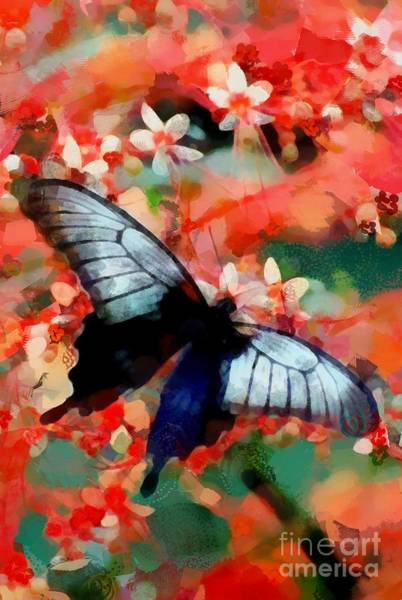 Painting - Art Butterfly Hotty Totty by Catherine Lott