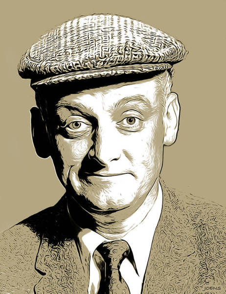 Digital Art - Art Carney3 by Greg Joens