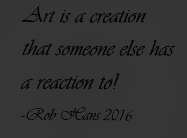 Capable Photograph - Art Creation Quote Dark by Rob Hans