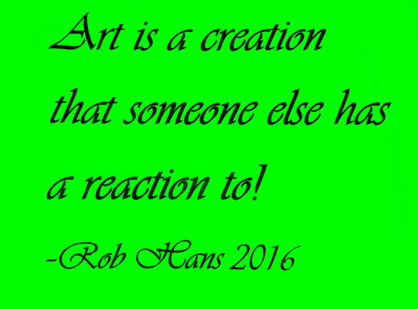 Capable Photograph - Art Creation Quote Green by Rob Hans