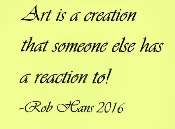 Capable Photograph - Art Creation Quote Yellow by Rob Hans