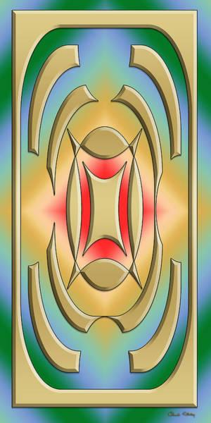 Digital Art - Modern Designs Vertical 2 by Chuck Staley