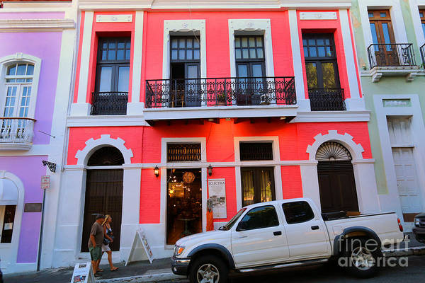 Photograph - Art Deco Building In Old San Juan by Steven Spak