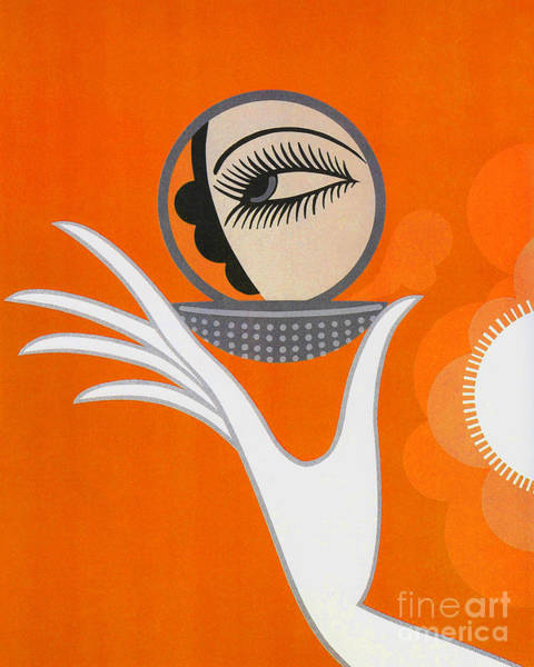 Wall Art - Painting - Art Deco Fashion Illustration by Tina Lavoie