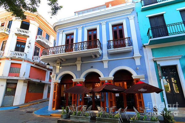 Photograph - Art Deco In Old San Juan by Steven Spak