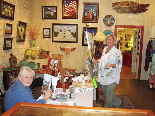 Painting - Art Demo by Patti Schermerhorn