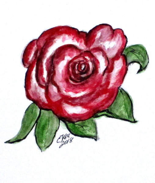 Mixed Media - Art Doodle No. 31 by Clyde J Kell