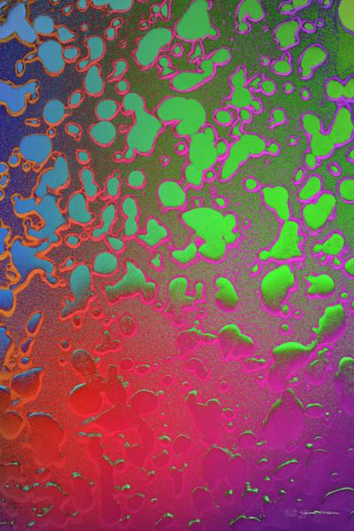 Digital Art - Art Doppelganger - Psychedelic Metals No. 2 by Serge Averbukh