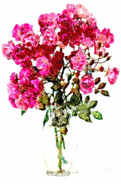Painting - Art Floraly Arranged In Asgelmint by Catherine Lott
