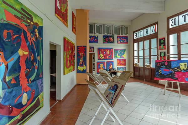 Wall Art - Photograph - Art Gallery In Havana by Viktor Birkus