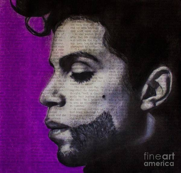 Photograph - Art In The News 90-prince by Michael Cross