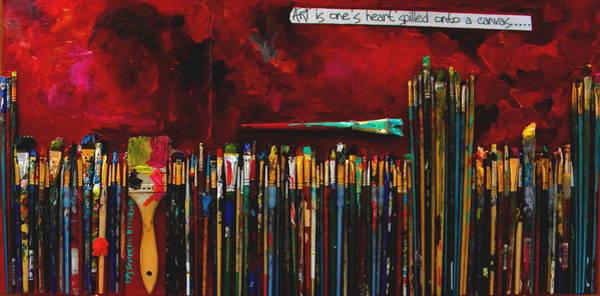Painting - Art Is by Patti Schermerhorn