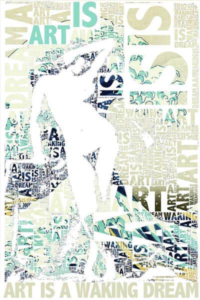 Mixed Media - Art Is by Tony Rubino