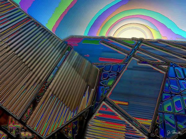 Wall Art - Photograph - Art Museum Abstract by Joe Bonita
