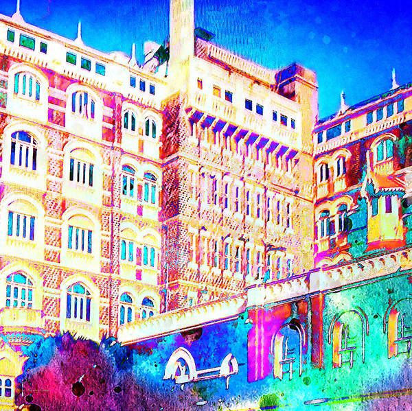 Baroque Mixed Media - Art Nouveau Architecture by Stacey Chiew