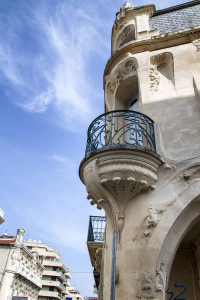 Photograph - Art Nouveau Balcony by Georgia Fowler