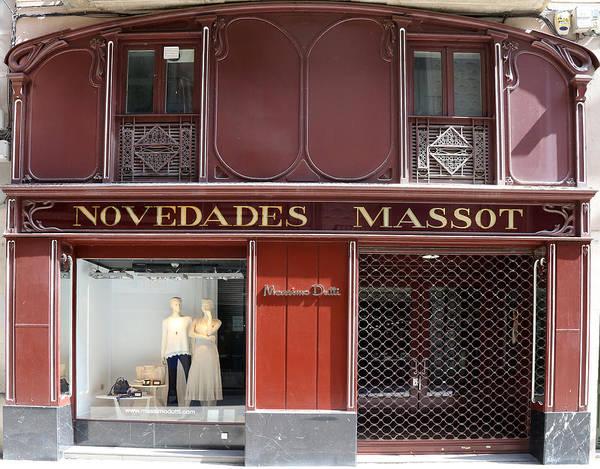 Photograph - Art Nouveau Storefront 2 by Andrew Fare