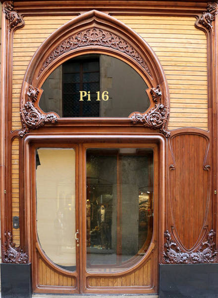 Photograph - Art Nouveau Storefront by Andrew Fare