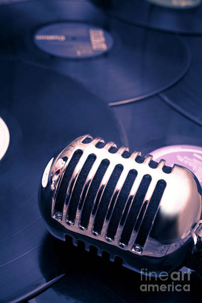 Microphone Photograph - Art Of Classic Communication by Jorgo Photography - Wall Art Gallery