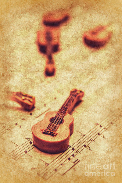 Grunge Music Wall Art - Photograph - Art Of Classical Rock by Jorgo Photography - Wall Art Gallery