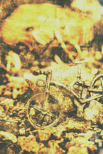 Postcard Photograph - Art Of Mountain Biking by Jorgo Photography - Wall Art Gallery