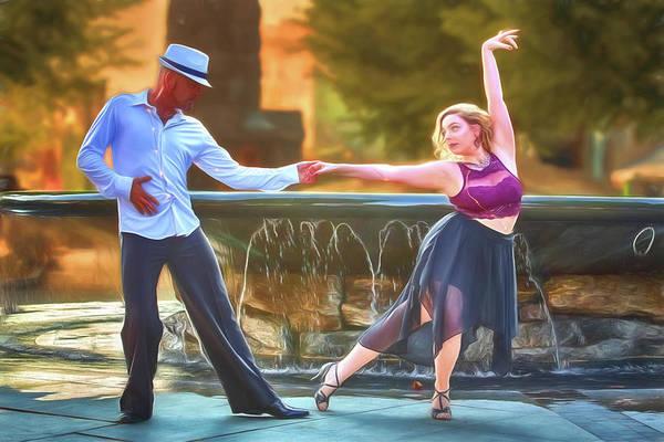 Art Of The Dance Art Print by John Haldane
