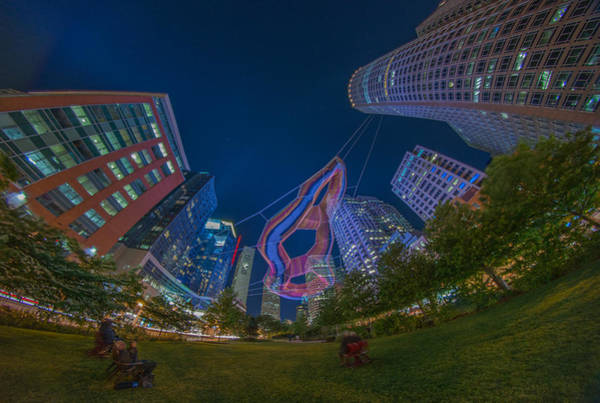 Photograph - Art On The Greenway 2 by Bryan Xavier
