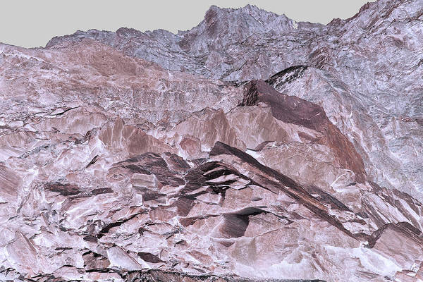 Photograph - Art Print Canyon 21 by Harry Gruenert