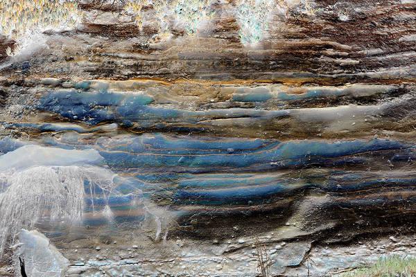 Photograph - Art Print Cliff 1 by Harry Gruenert