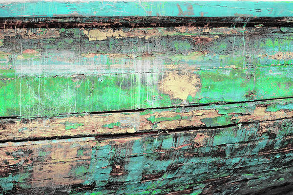 Photograph - Art Print Patina 2 by Harry Gruenert
