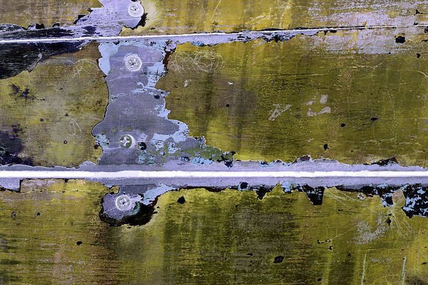 Photograph - Art Print Patina 23 by Harry Gruenert